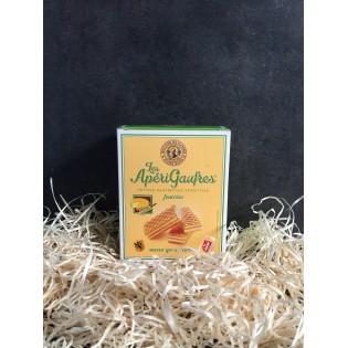 Aperigaufres fourrées saveur gouda/cumin 75g