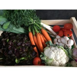 Panier de fruits et legumes 2 personnes