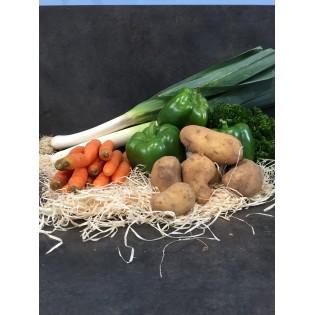 Bio panier legumes 1 personne