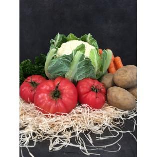 Panier legumes 1 personne